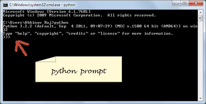 Como executar Scripts Python - abrir cmd