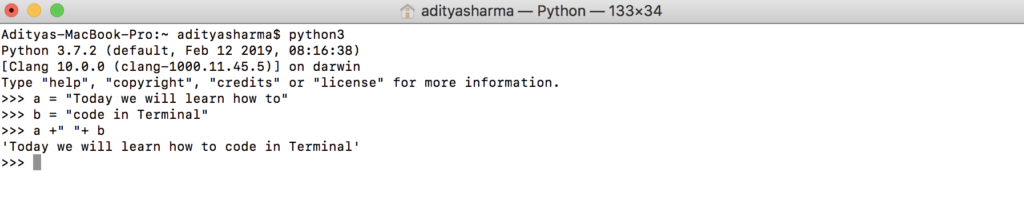 executar scripts Python