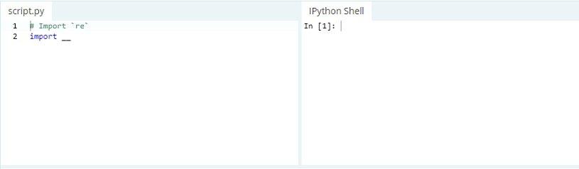 Expressões regulares no Python