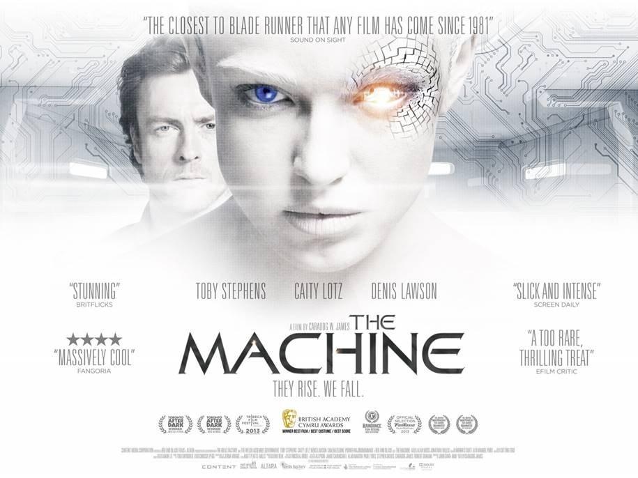 Filmes sobre Ciência de Dados - A Máquina
