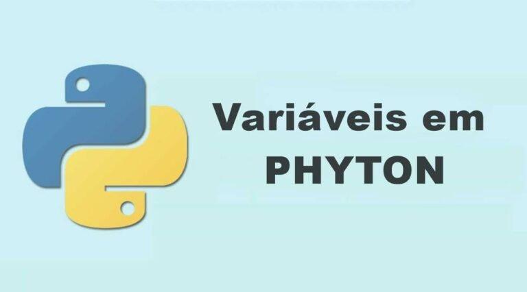 Variáveis em Phyton e suas definições